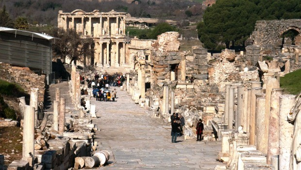 Curetes Street - Ephesus Turkey