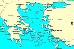 Geography of Ephesus