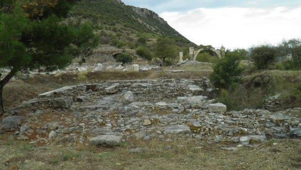 Temple Of Isis Ephesus Turkey
